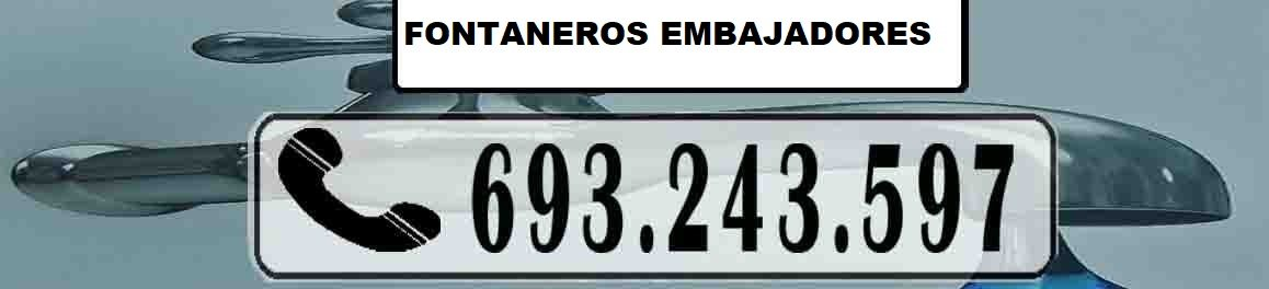 Fontaneros Embajadores Madrid Urgentes